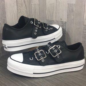 Converse CTAS BUCKLE OX black/black/white
